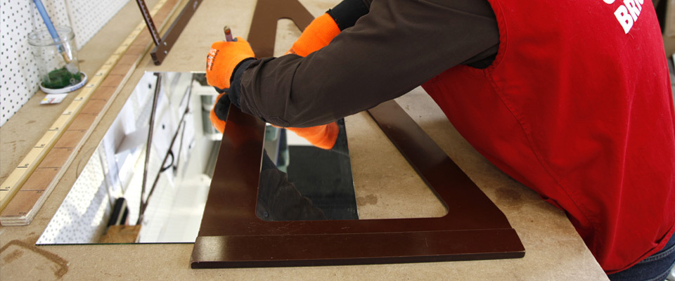 commande et d coupe de verre sur mesure bricolex. Black Bedroom Furniture Sets. Home Design Ideas